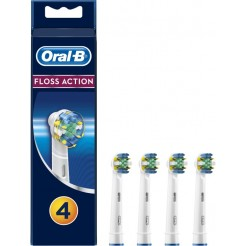 Originele Oral-B Floss Action 4 opzetborstels