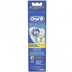 Oral-B EB 20 4 Precision Clean - Oplaadbare opzetborstel, 4-Pak