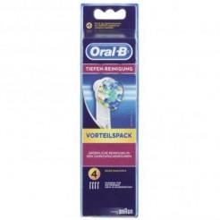 Oral-B EB 25 4 Floss Action - Oplaadbare Opzetborstel, 4-Pak