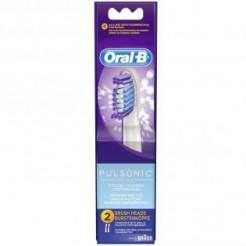Oral-B SR 32 2 Pulsonic - Opzetborstel, Pulsonic, 2-Pak