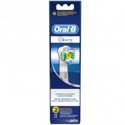 Oral-B EB 18 2 3D White - Oplaadbare opzetborstel, 3D white, 2-Pak