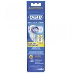 Oral-B EB 20 6 Precision Clean - Oplaadbare Opzetborstel, 6-Pak, Olympia