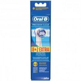 Oral-B EB 20 8+2 Precision Clean - Oplaadbare opzetborstel, 8+2 Gratis