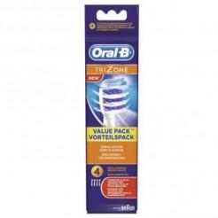 Oral-B EB 30 4 TriZone - Oplaadbare Opzetborstel, 4-Pak