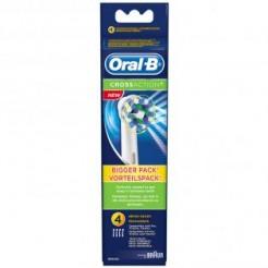 Oral-B Cross Action EB50 - Opzetborstels 4 stuks