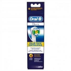 Oral-B 3D White EB18 - Opzetborstels 4 stuks