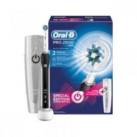 Oral-B PRO 2500 Black - Elektrische tandenborstel met reis etui